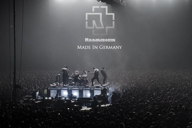 Rammstein Live Made In Germany Black And White By