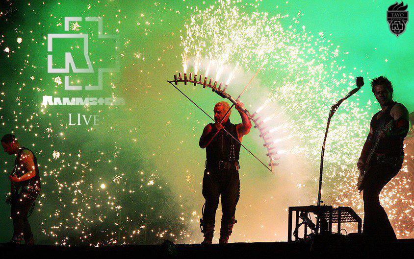 Rammstein Live Promo 2 By Tayofigueroa On Deviantart