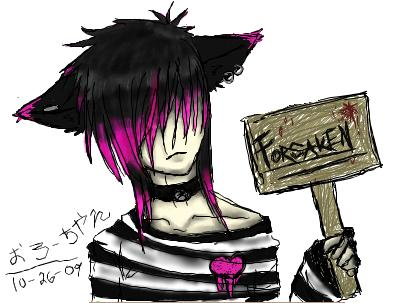 For that Emo anime neko girls really. And
