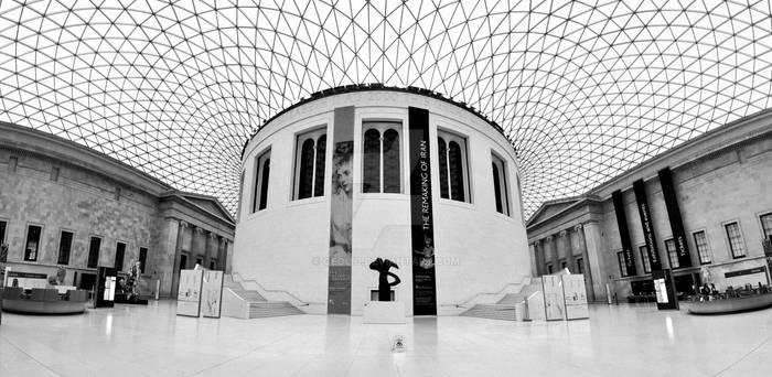 BRITISH MUSEUM EMPTY