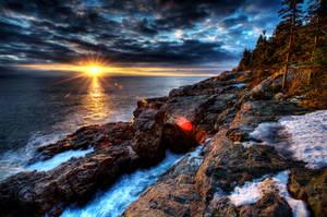 Acadian Sunrise by geolio