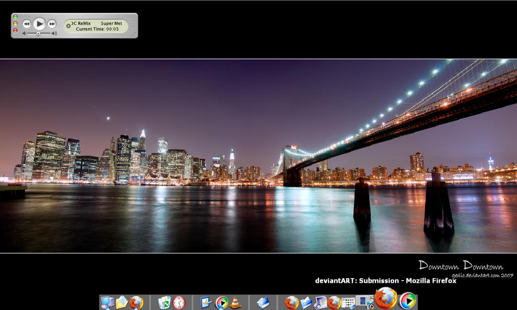 Desktop 1: Downtown Downtown by geolio