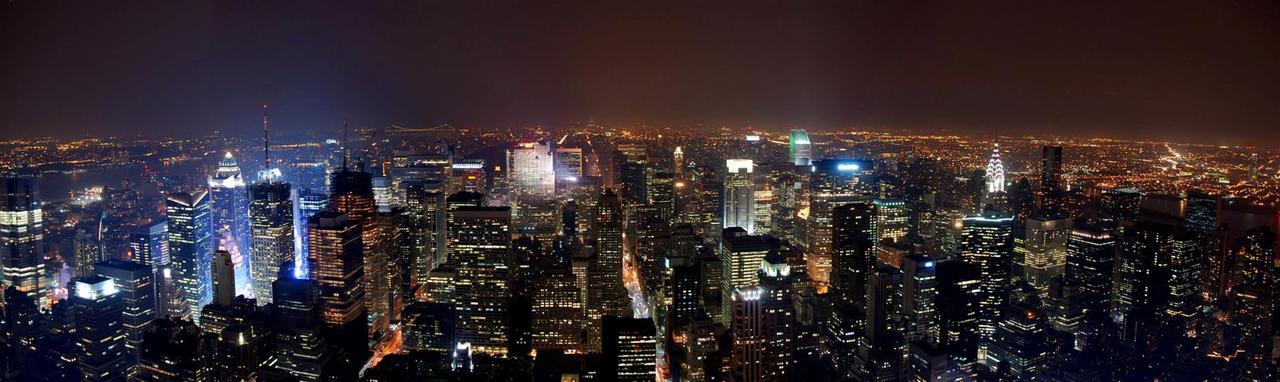 New York Skyline by geolio