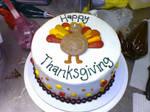 Turkey Day Cake by devianceisbliss