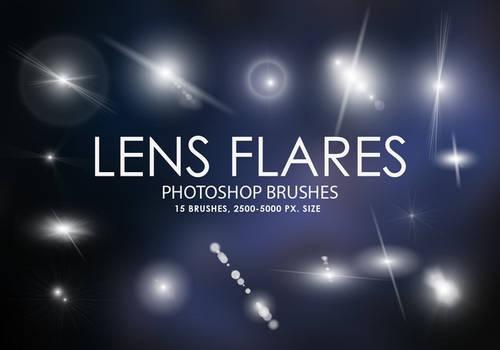 Free Lens Flares Photoshop Brushes Free Lens Flare
