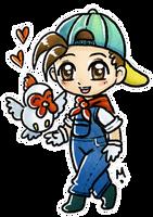 Hero of Harvest Moon by Meridot