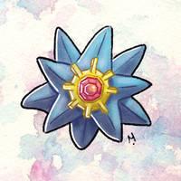 #121 Starmie Pokemon Challenge by Meridot