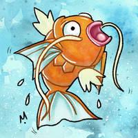 #129 Magikarp Pokemon Challege by Meridot