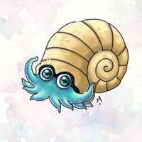 #138 Omanyte Pokemon Challenge by Meridot