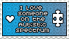 I love someone on the spectrum Stamp by Meridot