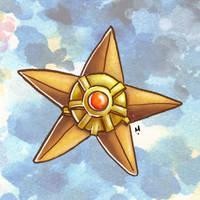 #152 Staryu Pokemon Challenge by Meridot