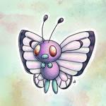 #12 Butterfree by Meridot