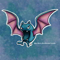 #42 Golbat Pokemon Challenge by Meridot