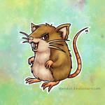 #20 Raticate - Pokemon Challenge