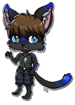 Chris the House Cat Commission AlkseeyaKC by Meridot