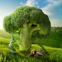 Brocolli Tree by Shorra