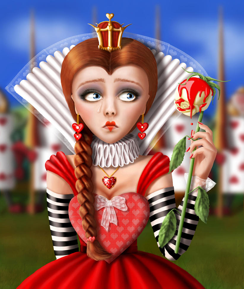 Queen of Hearts by Shorra on DeviantArt