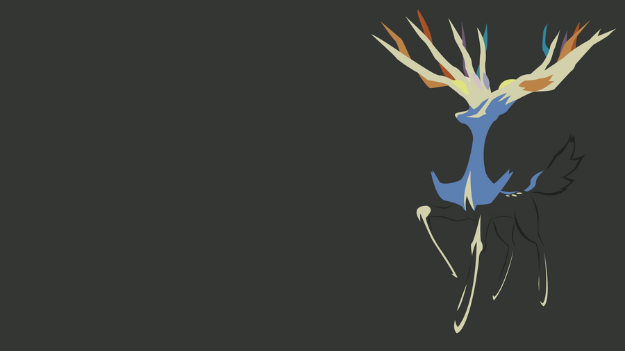 Xerneas by PLDHTopHat Xerneas Desktop Wallpaper