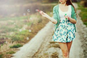 bubblegum rock by antonina-w-ogrodzie