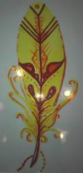 Piume 5 - Giallo by Aiken87