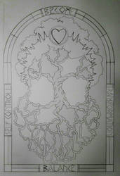 YGGDRASILL - Disegno by Aiken87