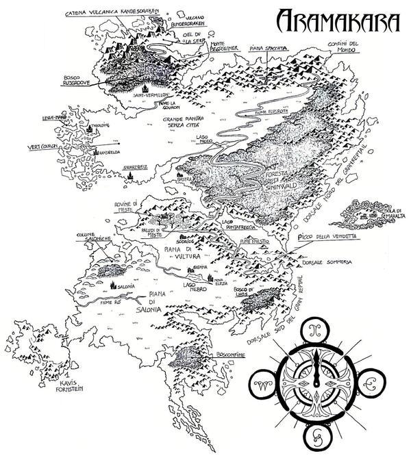 Continente - ARAMAKARA by Aiken87