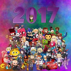GOODBYE, 2017! by CybershockStudios