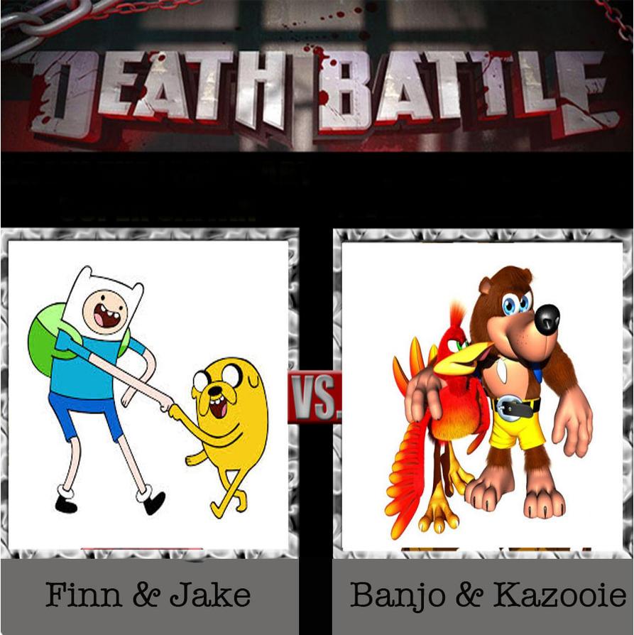 Finn And Jake Vs. Banjo And Kazooie