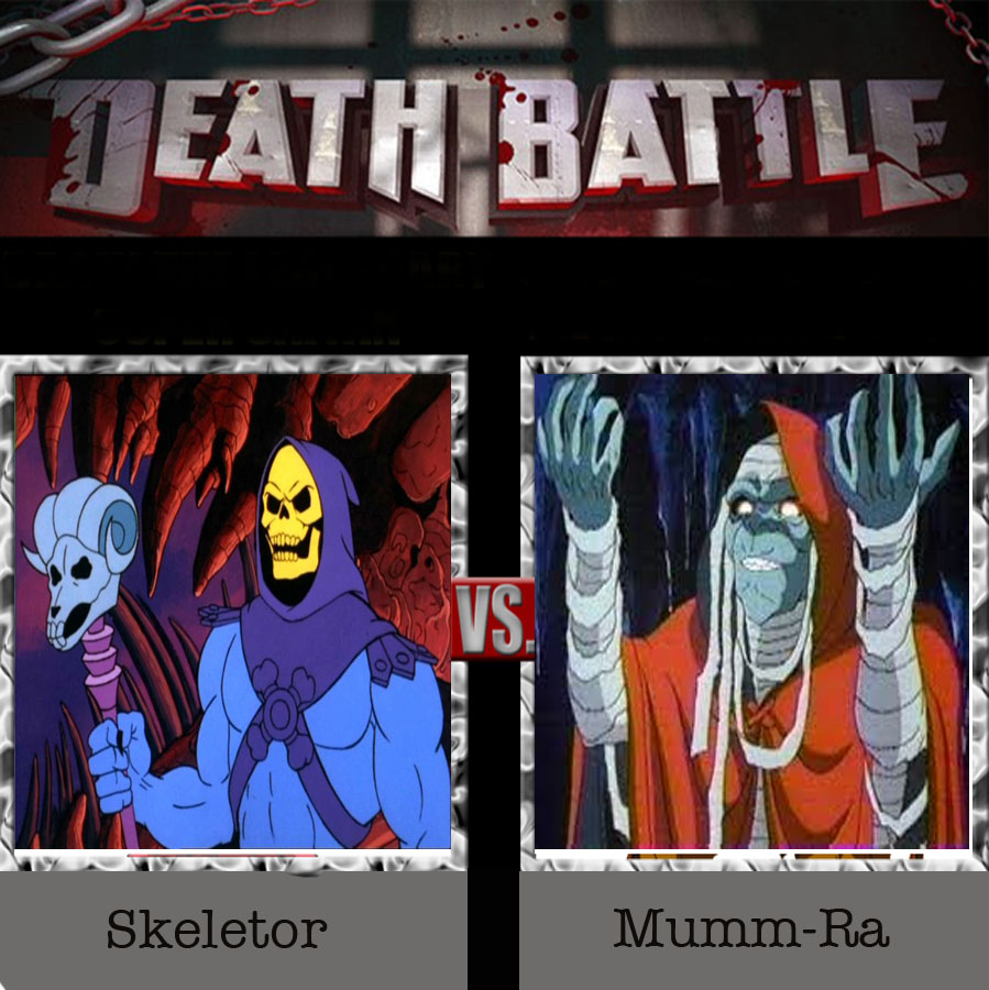 skeletor vs mumm ra - 899×900