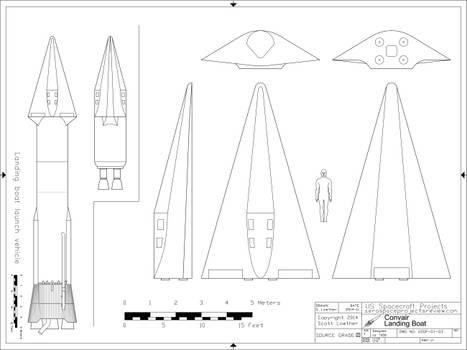 Convair Landing Boat USSP-01-03
