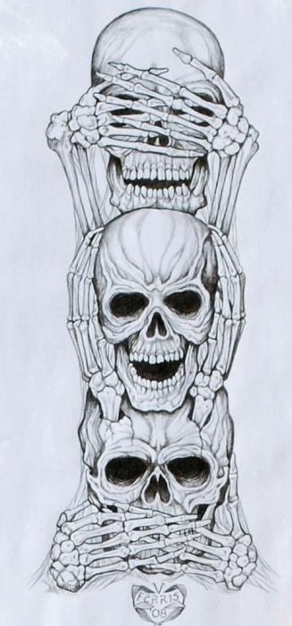 see no evil hear no evil speak no evil by freddykruger88See No Evil Hear No Evil Speak No Evil
