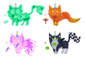 Unicat Mutant Auctions! [CLOSED] by Quapon