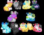 Unicat Breeding Project - Fluffy Cosmic [CLOSED]