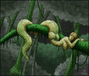 Green Sea Hikki - Sleepy by JazzLizard