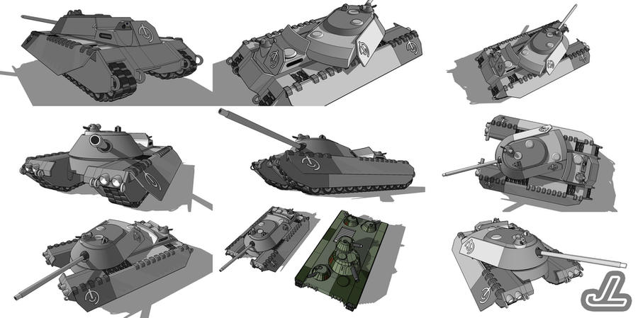 Arkau Tank Killer by JazzLizard