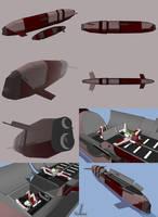 Tikal Class Carrier Sub by JazzLizard
