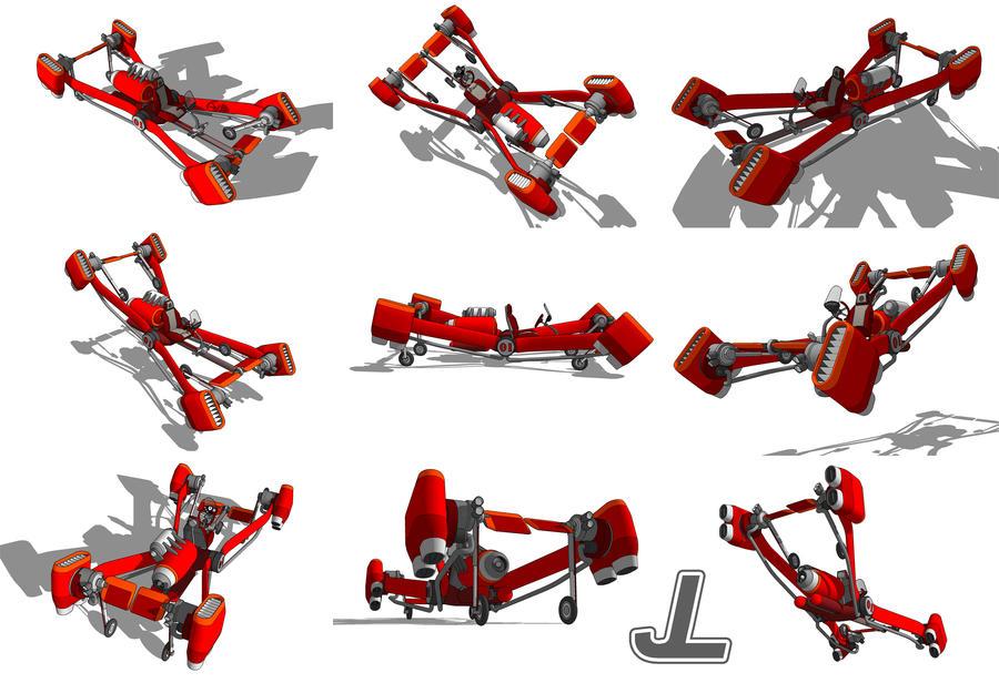 Alani Skycar Mk1 By Jazzlizard On Deviantart
