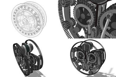 Climber Wheel Engine by JazzLizard