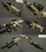 FN SCAR by JazzLizard
