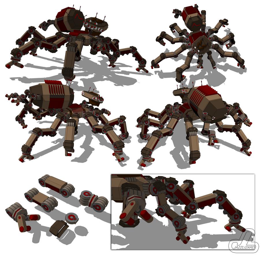 Arachne Class TAI by JazzLizard