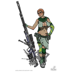 Antitank Girl