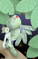 Petite Spidergirl by JazzLizard