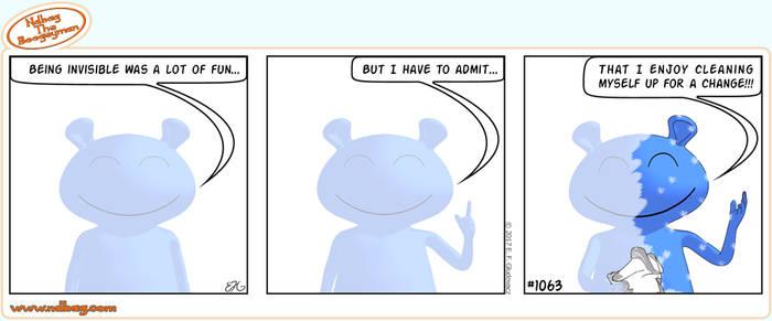 Ndbag the Boogeyman Comic 1063