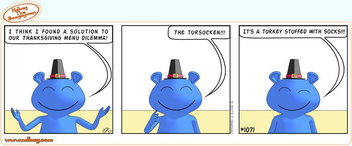 Ndbag the Boogeyman Comic 1071