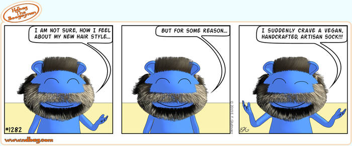 Ndbag the Boogeyman Comic 1282 by ndbag