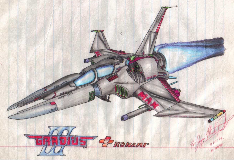 Gradius III Vic Viper by JMR-Mobius-1