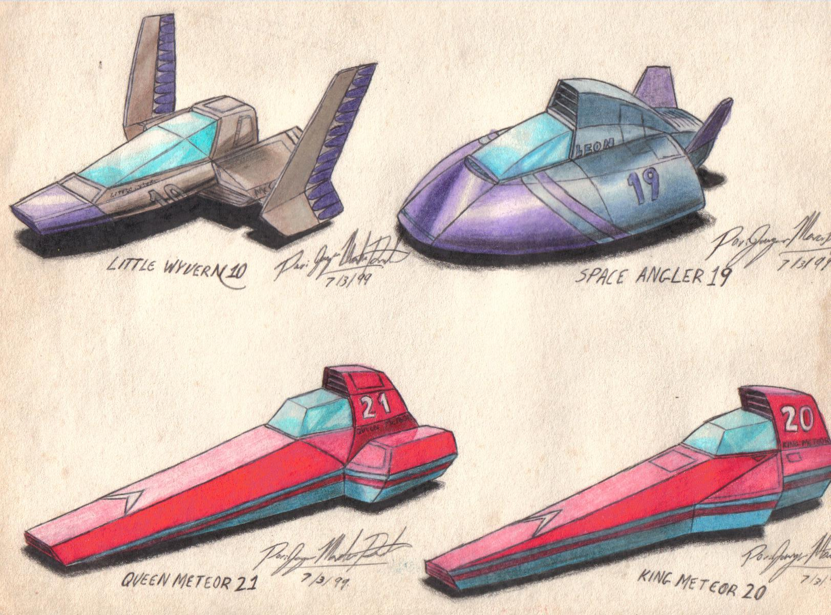 F-Zero X Ships page 6 by  F Zero Characters