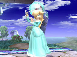 Rosalina debut on SSBB by JMR-Mobius-1
