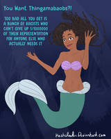 Halle Bailey as The Little Mermaid