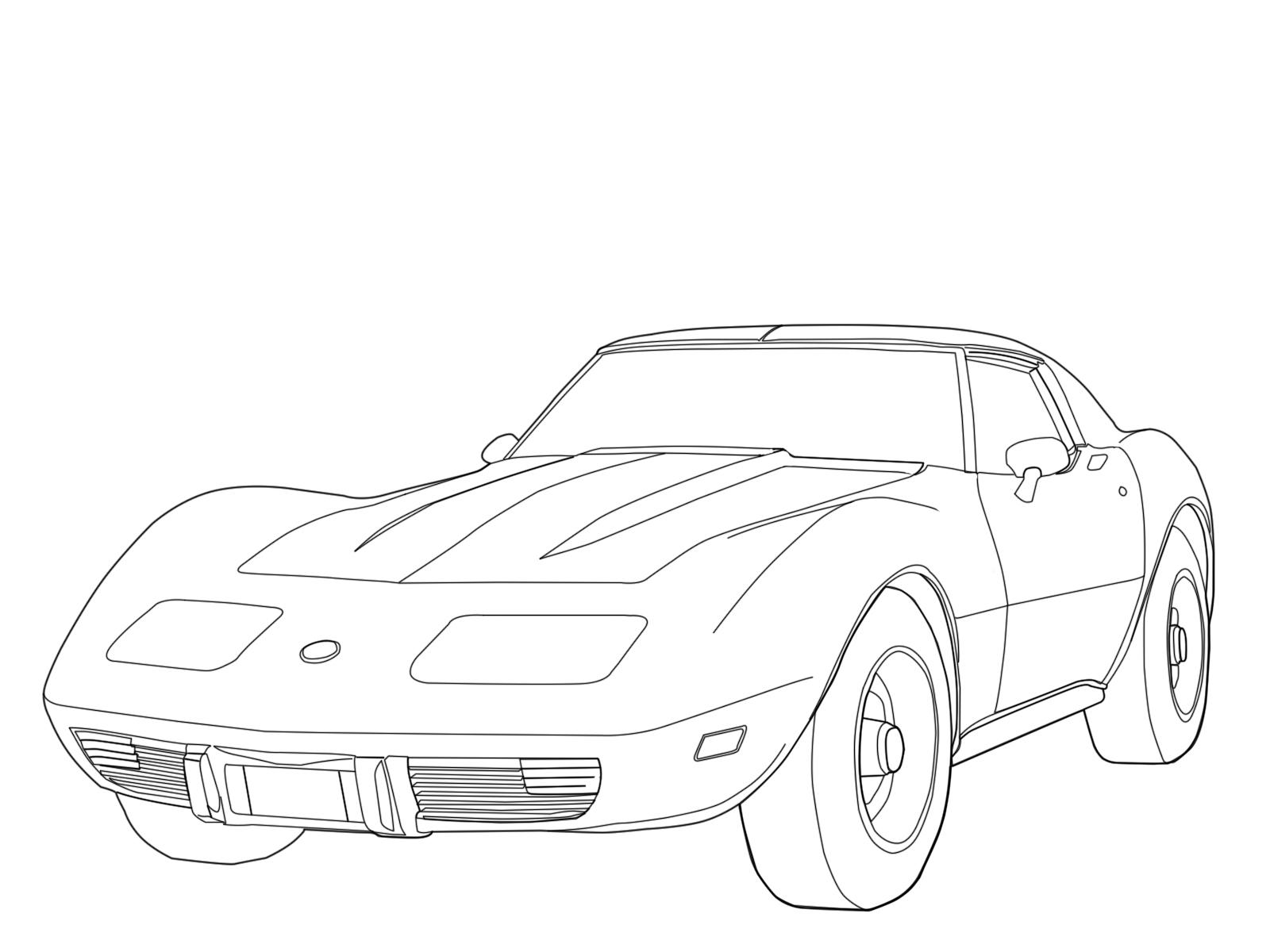1975 Corvette By Zargil On Deviantart
